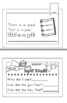 Emergent Reader Word Family -AD Fluency Reading Comprehension