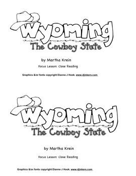 Emergent Reader: Wyoming