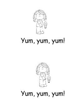 Food Emergent Reader Yum Yum Yum