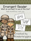 Emergent Reader Book Zoo/Animal Theme