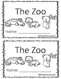 Emergent Reader (Zoo Theme)