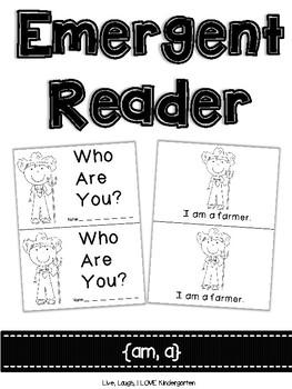 Emergent Reader {am, a}