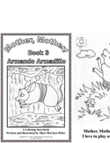 Emergent  Reader and Coloring Book - Armando Armadillo