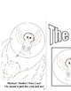 Emergent  Reader and Coloring Book - Barnaby Barn Owl