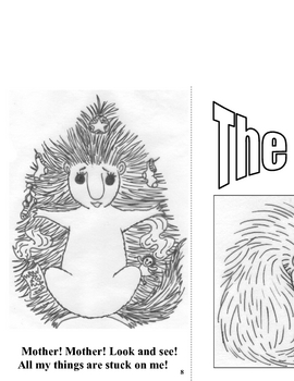 Emergent Reader and Coloring Book, Portia Porcupine