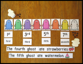 Emergent Reader and More The Chocolate Chip Ghost