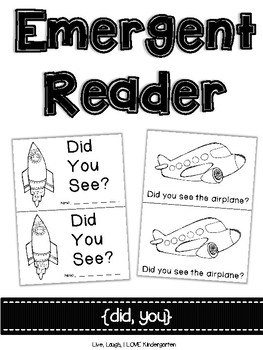 Emergent Reader {did, you}
