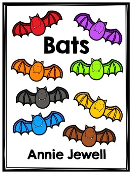 Emergent Reader for Beginning Readers - Color Words and Sight Words – Bats