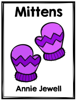 Emergent Reader for Beginning Readers - Color Words and Sight Words – Mittens