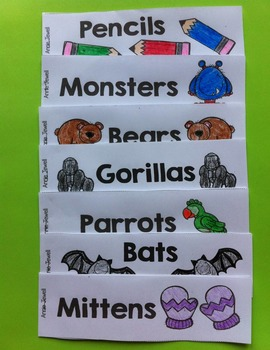 Emergent Reader for Beginning Readers - Color Words and Sight Words – Monsters