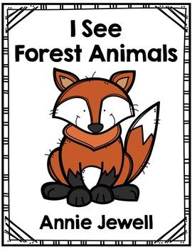 Emergent Reader for Beginning Readers – I See Forest Animals