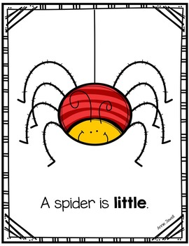 Emergent Reader for Beginning Readers – Little Animals