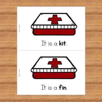 Emergent Reader for Beginning Readers- Short i Emergent Reader- It Is A . . .