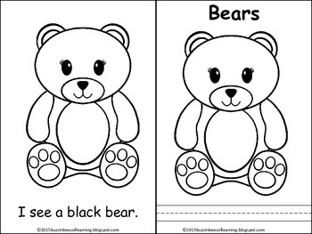 Emergent Reader for Color Words with Bears
