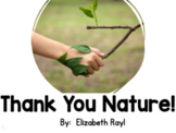 Emergent Reader for Gratitude Lesson-Thank You Nature