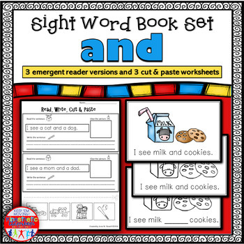 Emergent Reader for the Sight Word AND