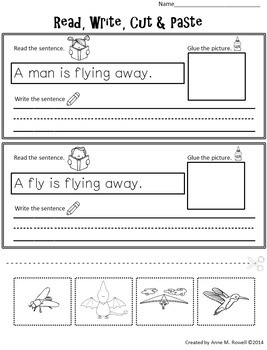 Emergent Reader for the Sight Word AWAY