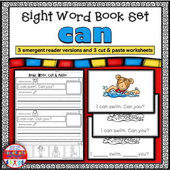 Emergent Reader for the Sight Word CAN
