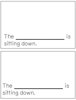 Emergent Reader for the Sight Word DOWN