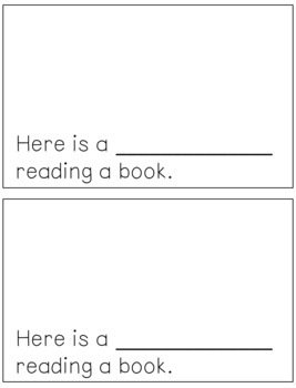 Emergent Reader for the Sight Word HERE
