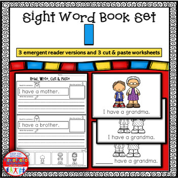 Emergent Reader for the Sight Word I