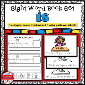 Emergent Reader for the Sight Word IS