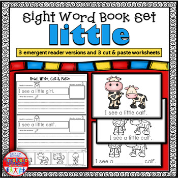 Emergent Reader for the Sight Word LITTLE