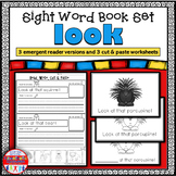 Emergent Reader for the Sight Word LOOK
