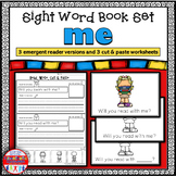 Emergent Reader for the Sight Word ME