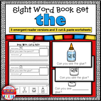 Emergent Reader for the Sight Word THE