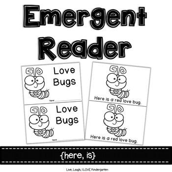 Emergent Reader {here, is}