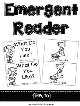 Emergent Reader {like, to}