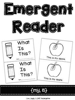 Emergent Reader {my, is}