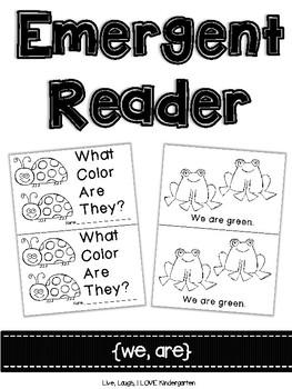 Emergent Reader {we, are}