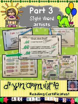 Emergent Reader with Dolch Pre-Primer Sight Words and Short U Word Families
