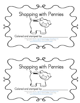Emergent Readers 2-pack - Pennies and Piggy Banks