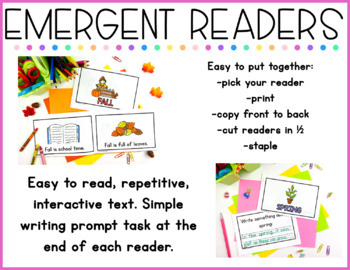 Emergent Readers - Seasonal
