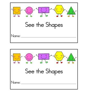 Emergent Readers  (2D Shapes)