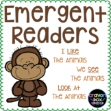 Emergent Readers -Animal Pack-