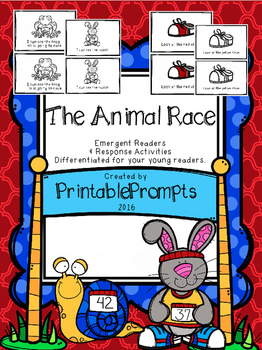 Emergent Readers- Animal Race