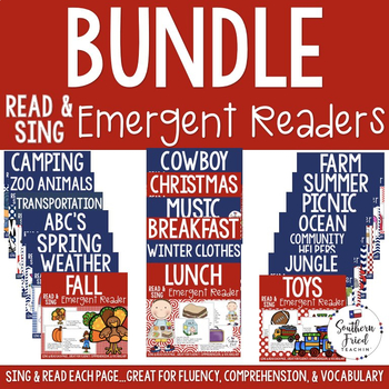 Shared Reading Read & Sing Early Reader BUNDLE - 20 Readers