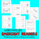 Emergent Readers BUNDLE Fluency Reading Comprehension