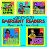 Emergent Readers BUNDLE Fluency Reading Comprehension