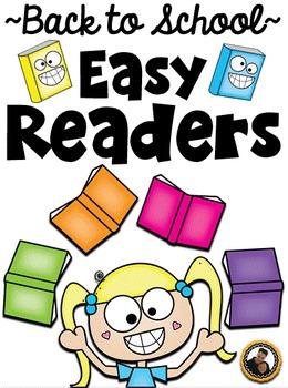 Emergent Readers Back to School