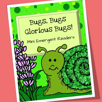 Bugs and Insects Emergent Readers