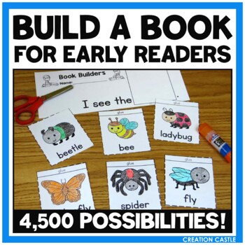 Emergent Readers - Build Your Own Printable Books
