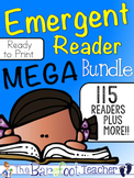 Emergent Readers MEGA Bundle {2000+ printable pages!}