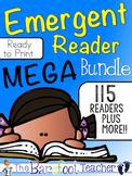 Emergent Readers MEGA Bundle {2000+ printable pages!}