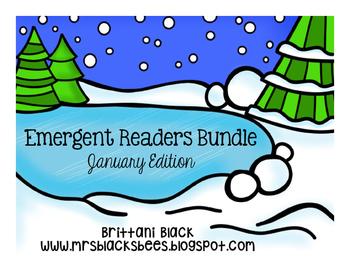 Emergent Readers Bundle~ January Edition