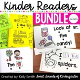 Emergent Readers Bundle {Kindergarten Sight Word Readers}